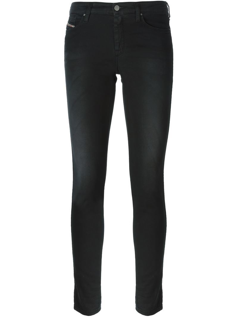 'doris' Jeans, Women's, Black - style: skinny leg; length: standard; pattern: plain; pocket detail: traditional 5 pocket; waist: mid/regular rise; predominant colour: black; occasions: casual; fibres: cotton - stretch; texture group: denim; pattern type: fabric; season: a/w 2015; wardrobe: basic