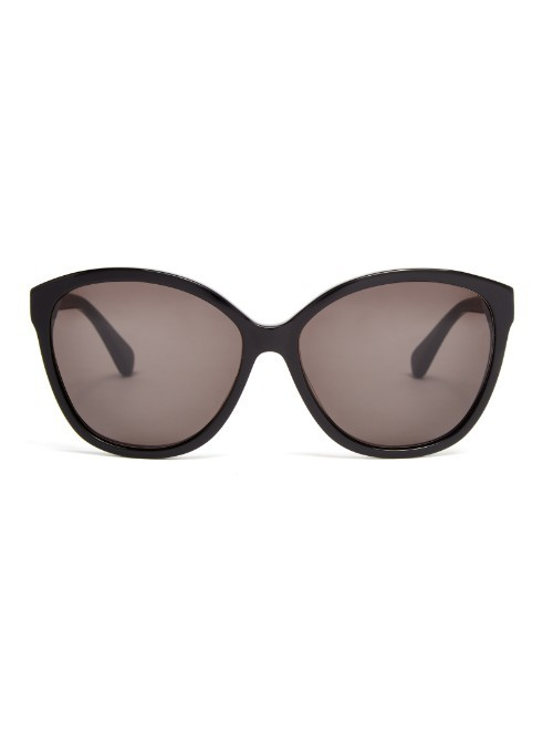 Harper Sunglasses - predominant colour: black; style: cateye; size: standard; material: plastic/rubber; pattern: plain; occasions: holiday; finish: plain; season: a/w 2015; wardrobe: basic