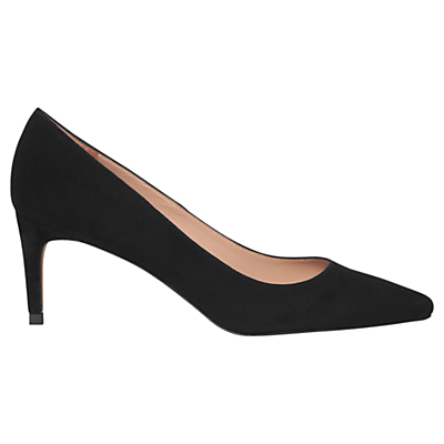 Heylor Stiletto Court Shoes - predominant colour: black; occasions: work, occasion; material: suede; heel height: mid; heel: stiletto; toe: pointed toe; style: courts; finish: plain; pattern: plain; season: a/w 2015; wardrobe: investment