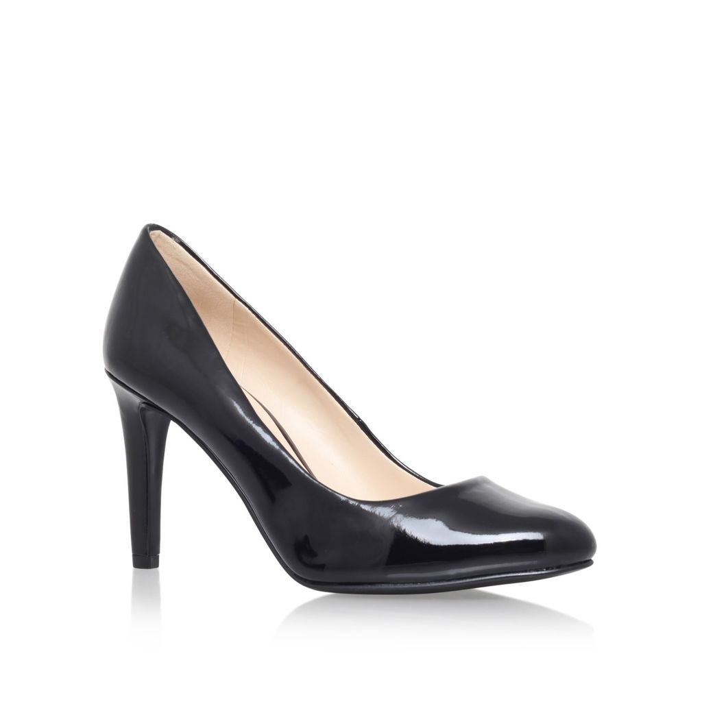 Handjive3 High Heel Court Shoes, Black - predominant colour: black; occasions: work; material: leather; heel height: high; heel: stiletto; toe: round toe; style: courts; finish: plain; pattern: plain; season: a/w 2015; wardrobe: investment
