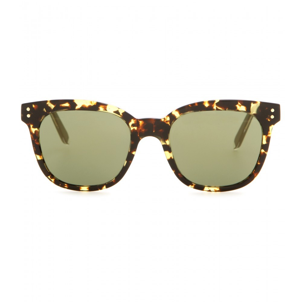 The Vb Sunglasses - predominant colour: chocolate brown; occasions: casual, holiday; style: d frame; size: standard; material: plastic/rubber; pattern: tortoiseshell; finish: plain; season: a/w 2015; wardrobe: basic