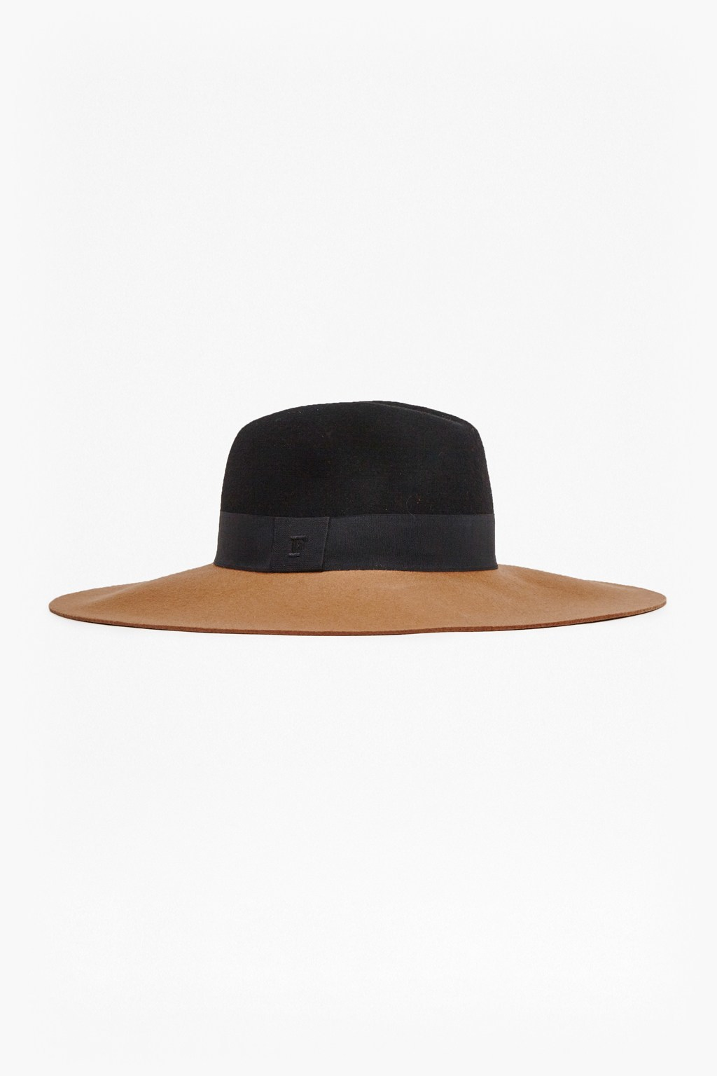 Anita Colour Block Felt Fedora Biker Berry/Black - secondary colour: tan; predominant colour: black; occasions: casual; type of pattern: standard; style: fedora; size: standard; material: felt; pattern: plain; season: a/w 2015; wardrobe: basic