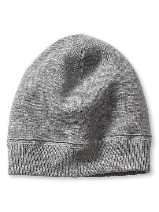 Reversible Beanie Grey Sky - predominant colour: mid grey; occasions: casual; type of pattern: standard; style: beanie; size: standard; material: knits; pattern: plain; season: a/w 2015; wardrobe: basic