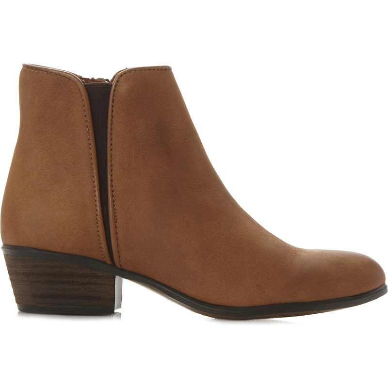 Line Low Suede Ankle Boots, Women's, Eur 41 / 8 Uk Women, Tan Nubuck - predominant colour: tan; occasions: casual; material: suede; heel height: flat; heel: block; toe: round toe; boot length: ankle boot; style: standard; finish: plain; pattern: plain; season: a/w 2015; wardrobe: highlight