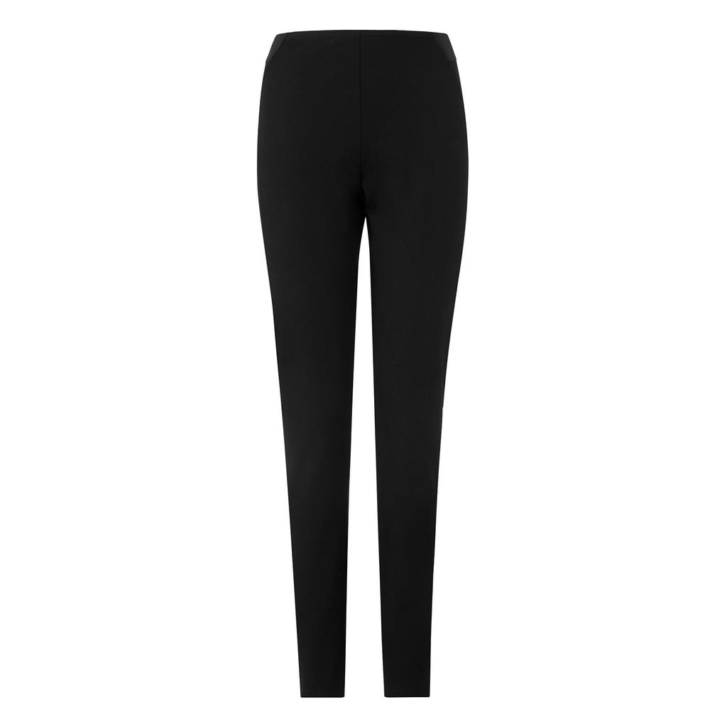 Tami Black Skinny Trouser Black - length: standard; pattern: plain; waist: high rise; predominant colour: black; occasions: work; fibres: polyester/polyamide - 100%; fit: slim leg; pattern type: fabric; texture group: woven light midweight; style: standard; season: a/w 2015; wardrobe: basic