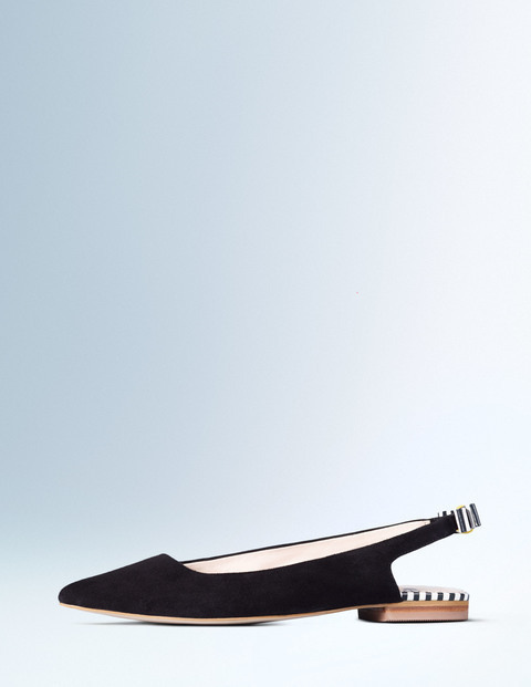 Daniella Flat Point Black Women, Black - predominant colour: black; occasions: casual, creative work; material: fabric; heel height: flat; toe: pointed toe; style: ballerinas / pumps; finish: plain; pattern: plain; season: a/w 2015; wardrobe: basic