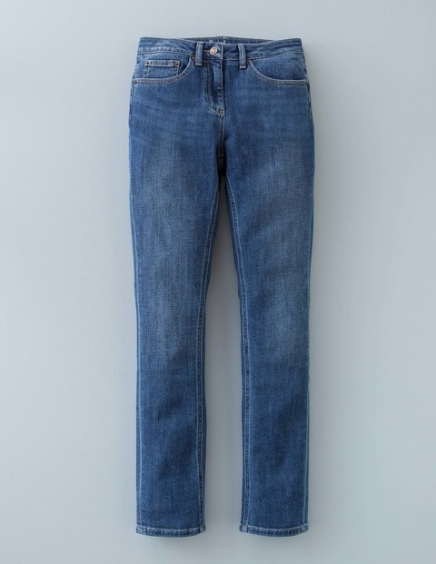 Straightleg Jean Vintage Women, Vintage - style: straight leg; length: standard; pattern: plain; pocket detail: traditional 5 pocket; waist: mid/regular rise; predominant colour: denim; occasions: casual, creative work; fibres: cotton - stretch; texture group: denim; pattern type: fabric; season: a/w 2015; wardrobe: basic
