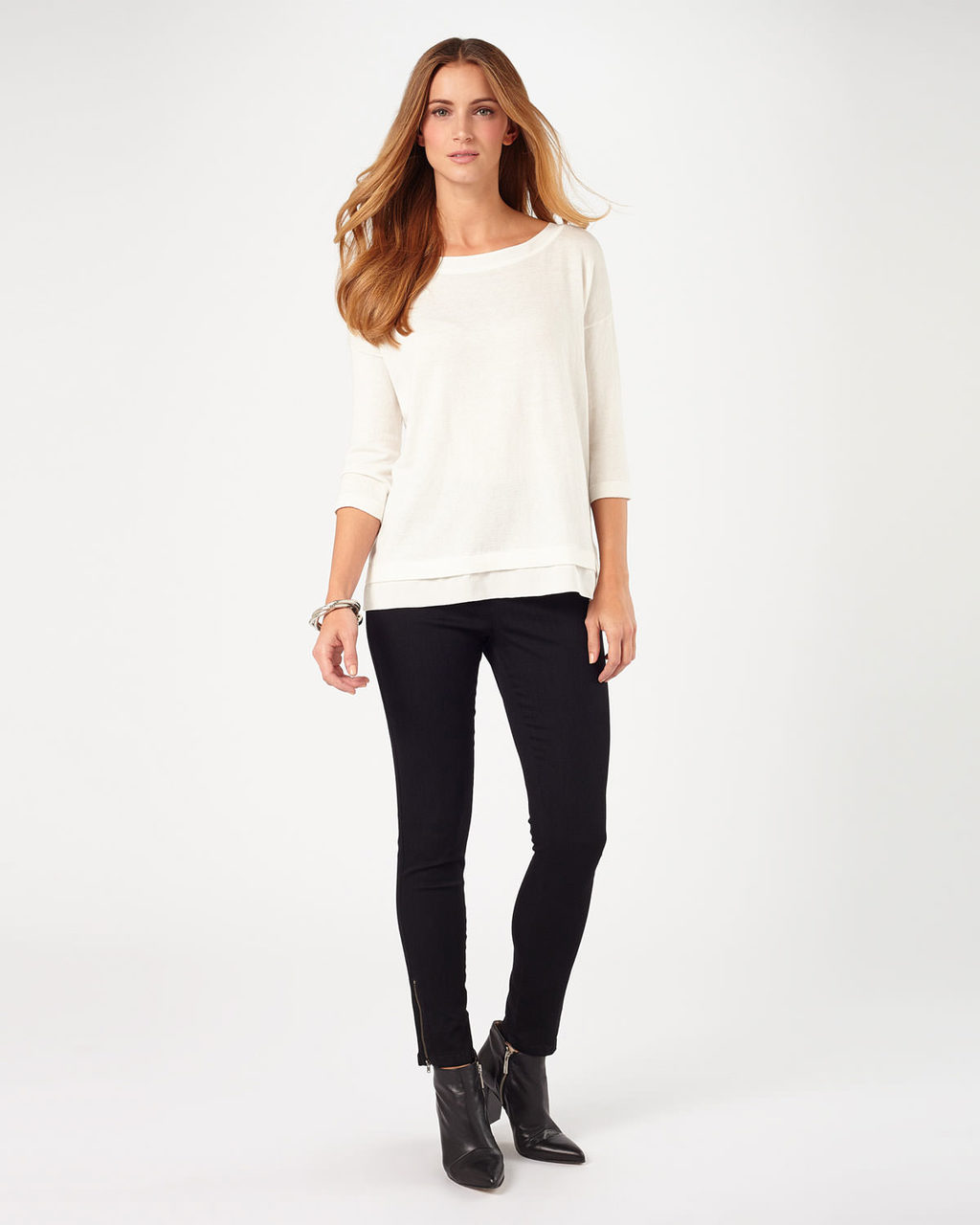 Amina Zip 7/8th Jegging - length: standard; pattern: plain; waist: high rise; style: jeggings; predominant colour: black; occasions: casual, creative work; fibres: cotton - stretch; texture group: denim; pattern type: fabric; season: a/w 2015; wardrobe: basic