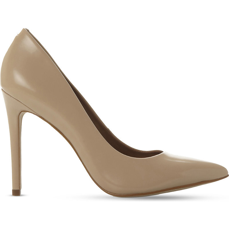 Pointed Leather Courts, Women's, Eur 41 / 8 Uk Women, Blush Leather - predominant colour: stone; occasions: evening, creative work; material: leather; heel: stiletto; toe: pointed toe; style: courts; finish: plain; pattern: plain; heel height: very high; season: a/w 2015