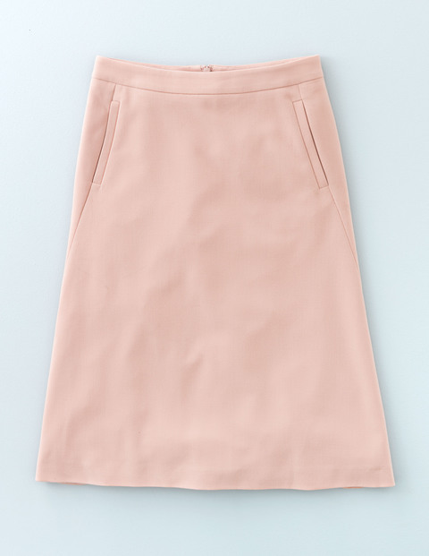 Harper Skirt Rose Quartz Women, Rose Quartz - pattern: plain; fit: loose/voluminous; waist: high rise; predominant colour: pink; length: just above the knee; style: a-line; fibres: polyester/polyamide - mix; pattern type: fabric; texture group: other - light to midweight; occasions: creative work; season: a/w 2015; wardrobe: highlight