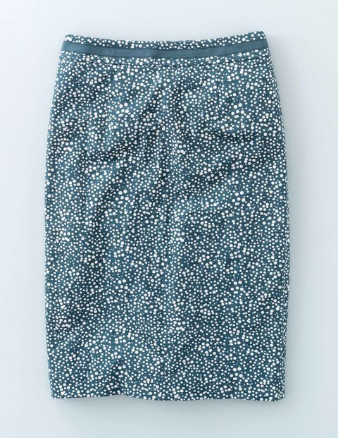 Modern Pencil Mallard Green Print Women, Mallard Green Print - style: pencil; waist: mid/regular rise; predominant colour: emerald green; occasions: casual, creative work; length: just above the knee; fibres: polyester/polyamide - mix; fit: straight cut; pattern type: fabric; pattern: patterned/print; texture group: woven light midweight; pattern size: big & busy (bottom); season: a/w 2015; wardrobe: highlight