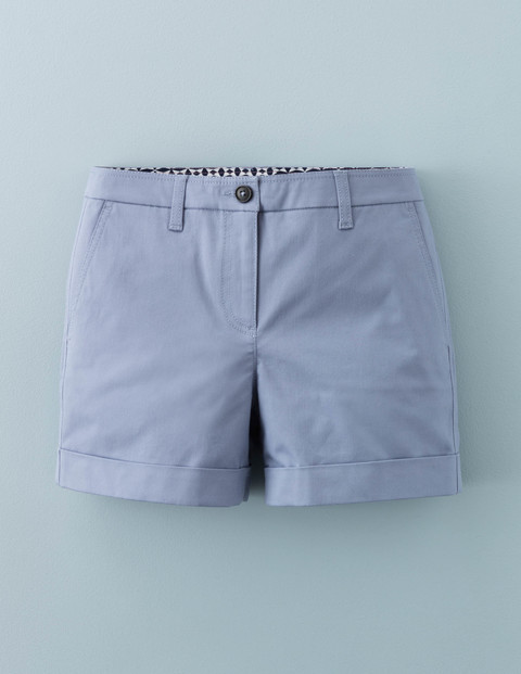 Chino Shorts River Women, River - pattern: plain; waist: mid/regular rise; predominant colour: pale blue; occasions: casual, creative work; fibres: polyester/polyamide - 100%; pattern type: fabric; texture group: other - light to midweight; season: a/w 2015; style: shorts; length: short shorts; fit: slim leg; wardrobe: highlight