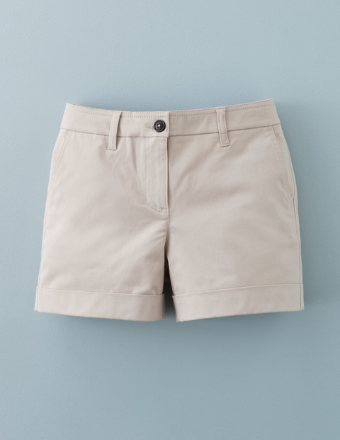 Chino Shorts Porridge Women, Porridge - pattern: plain; waist: mid/regular rise; predominant colour: stone; occasions: casual; fibres: cotton - 100%; texture group: cotton feel fabrics; pattern type: fabric; season: a/w 2015; wardrobe: basic; style: shorts; length: short shorts; fit: slim leg