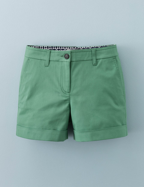 Chino Shorts Chalky Green Women, Chalky Green - pattern: plain; waist: mid/regular rise; predominant colour: pistachio; occasions: casual, holiday; fibres: cotton - 100%; waist detail: narrow waistband; texture group: cotton feel fabrics; pattern type: fabric; season: a/w 2015; style: shorts; length: short shorts; fit: slim leg; wardrobe: holiday