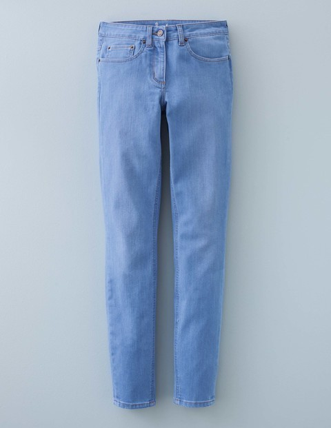 Skinny Jean Baby Blue Women, Baby Blue - style: skinny leg; length: standard; pattern: plain; pocket detail: traditional 5 pocket; waist: mid/regular rise; predominant colour: denim; occasions: casual; fibres: cotton - stretch; texture group: denim; pattern type: fabric; season: a/w 2015; wardrobe: basic