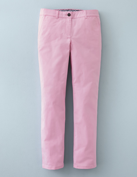 7/8 Chino Cotton Candy Women, Cotton Candy - length: standard; pattern: plain; waist: mid/regular rise; predominant colour: pink; occasions: casual, creative work; style: chino; fibres: cotton - 100%; texture group: cotton feel fabrics; fit: straight leg; pattern type: fabric; season: a/w 2015; wardrobe: highlight