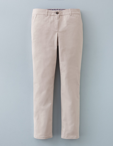 7/8 Chino Porridge Women, Porridge - pattern: plain; waist: mid/regular rise; predominant colour: stone; occasions: casual; length: ankle length; style: chino; fibres: cotton - 100%; waist detail: feature waist detail; texture group: cotton feel fabrics; fit: slim leg; pattern type: fabric; season: a/w 2015; wardrobe: basic