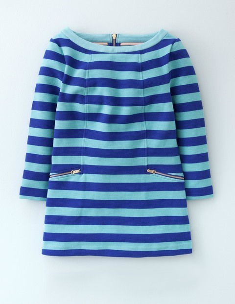 Long Maggie Ottoman Top Renaissance Blue/Oxygen Women, Renaissance Blue/Oxygen - neckline: round neck; pattern: horizontal stripes; predominant colour: royal blue; secondary colour: pale blue; occasions: casual; length: standard; style: top; fibres: cotton - stretch; fit: body skimming; sleeve length: long sleeve; sleeve style: standard; pattern type: fabric; texture group: jersey - stretchy/drapey; multicoloured: multicoloured; season: a/w 2015; wardrobe: highlight