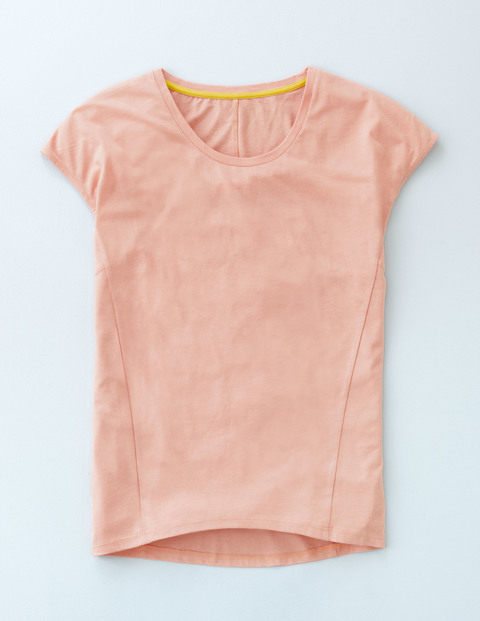 Supersoft Seam Tee Rose Quartz Women, Rose Quartz - sleeve style: capped; pattern: plain; style: t-shirt; predominant colour: pink; occasions: casual; length: standard; fibres: cotton - 100%; fit: body skimming; neckline: crew; sleeve length: short sleeve; pattern type: fabric; texture group: jersey - stretchy/drapey; season: a/w 2015; wardrobe: highlight