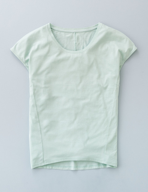 Supersoft Seam Tee Aqua Mint Women, Aqua Mint - neckline: round neck; pattern: plain; style: t-shirt; predominant colour: pistachio; occasions: casual; length: standard; fibres: cotton - mix; fit: body skimming; sleeve length: short sleeve; sleeve style: standard; pattern type: fabric; texture group: jersey - stretchy/drapey; season: a/w 2015; wardrobe: highlight