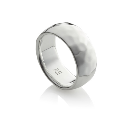 Alta Ring - predominant colour: silver; occasions: casual, work, creative work; style: band; size: large/oversized; material: chain/metal; finish: metallic; season: a/w 2015; wardrobe: highlight