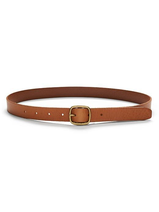 Centerbar Italian Leather Belt Honey Brown - predominant colour: tan; occasions: casual, creative work; type of pattern: standard; style: classic; size: skinny; worn on: hips; material: leather; pattern: plain; finish: plain; season: s/s 2016