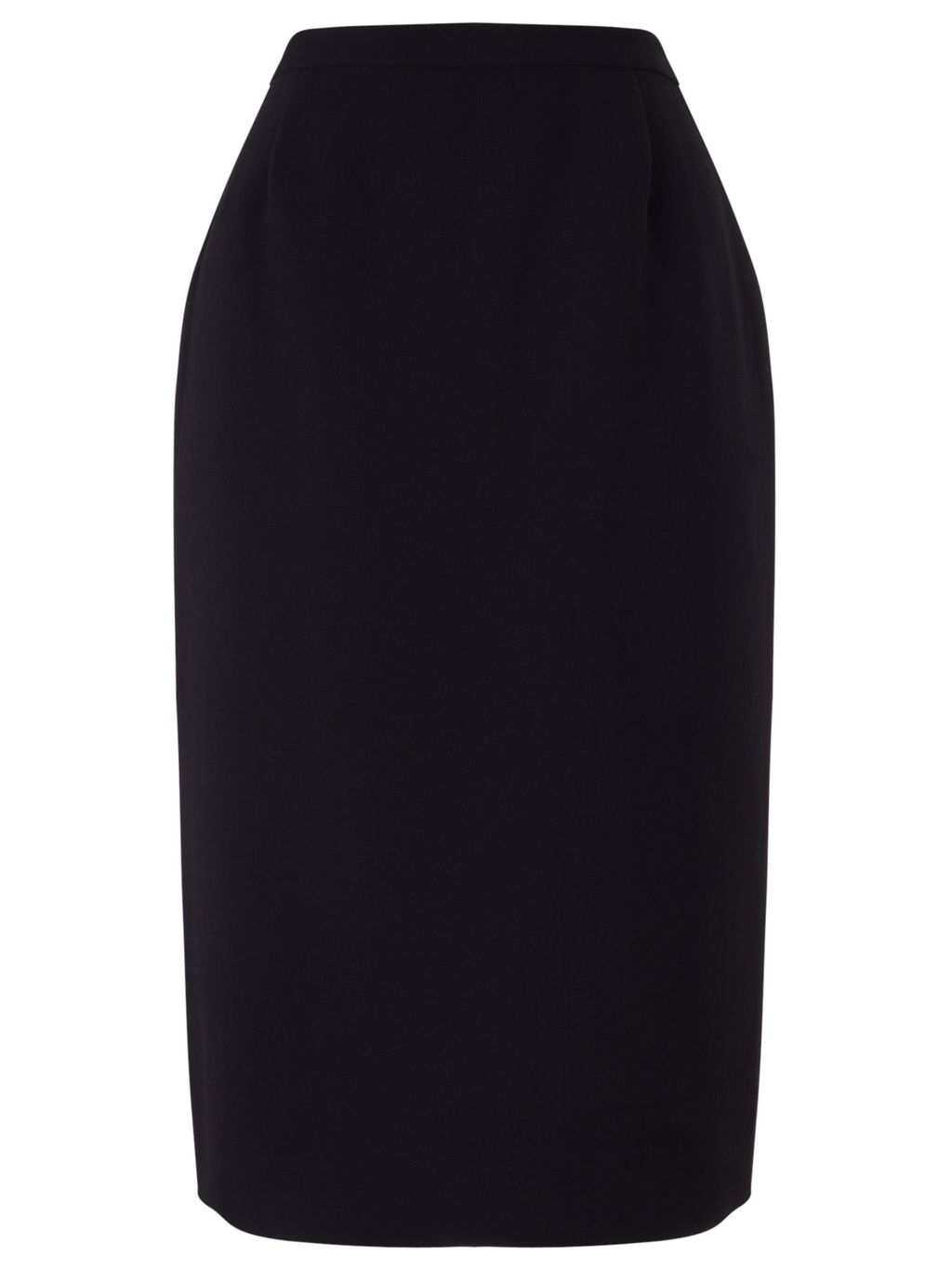 Crepe Pencil Skirt, Black - pattern: plain; style: pencil; fit: tailored/fitted; waist: high rise; predominant colour: black; occasions: work; length: just above the knee; fibres: polyester/polyamide - 100%; texture group: crepes; pattern type: fabric; season: s/s 2016; wardrobe: basic
