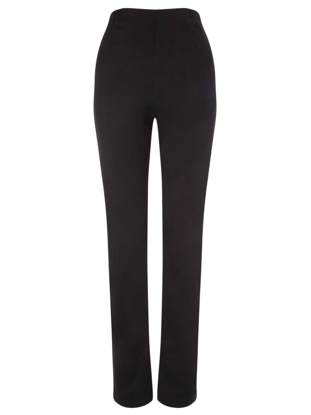 Black Jegging Long - style: straight leg; length: standard; pattern: plain; waist: high rise; predominant colour: black; occasions: casual; fibres: cotton - stretch; texture group: denim; pattern type: fabric; season: s/s 2016; wardrobe: basic