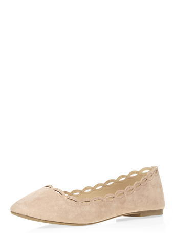 Womens Nude 'postie' Pumps Nude - predominant colour: nude; occasions: casual; material: fabric; heel height: flat; toe: pointed toe; style: ballerinas / pumps; finish: plain; pattern: plain; season: s/s 2016; wardrobe: basic