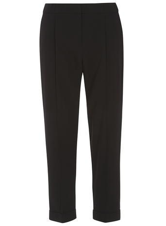Womens Black Naples Joggers Black - length: standard; pattern: plain; style: tracksuit pants; waist: mid/regular rise; predominant colour: black; occasions: casual, creative work; fibres: polyester/polyamide - stretch; fit: straight leg; pattern type: fabric; texture group: other - light to midweight; season: s/s 2016