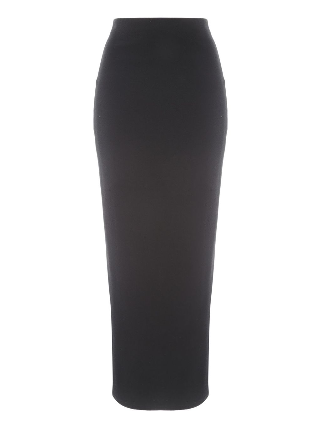 Tube Maxi Skirt, Black - length: mid thigh; pattern: plain; fit: tight; waist detail: elasticated waist; waist: high rise; predominant colour: black; occasions: casual; fibres: polyester/polyamide - stretch; style: tube; texture group: jersey - clingy; pattern type: fabric; season: s/s 2016; wardrobe: basic