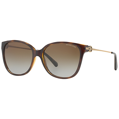 Mk6006 Marrakesh Cat's Eye Sunglasses - predominant colour: chocolate brown; style: cateye; size: standard; material: plastic/rubber; pattern: plain; occasions: holiday; finish: plain; season: s/s 2016; wardrobe: basic