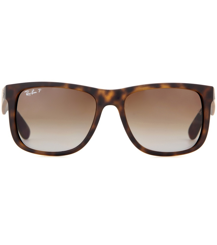 Rb4165 Wayfarer Sunglasses - predominant colour: chocolate brown; style: d frame; size: standard; material: plastic/rubber; pattern: tortoiseshell; occasions: holiday; finish: plain; season: s/s 2016; wardrobe: basic