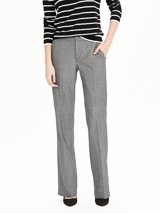 Logan Fit Gray Lightweight Wool Trouser Gray - length: standard; pattern: plain; waist: mid/regular rise; predominant colour: mid grey; occasions: work; fibres: wool - mix; fit: straight leg; pattern type: fabric; texture group: woven light midweight; style: standard; season: s/s 2016; wardrobe: basic