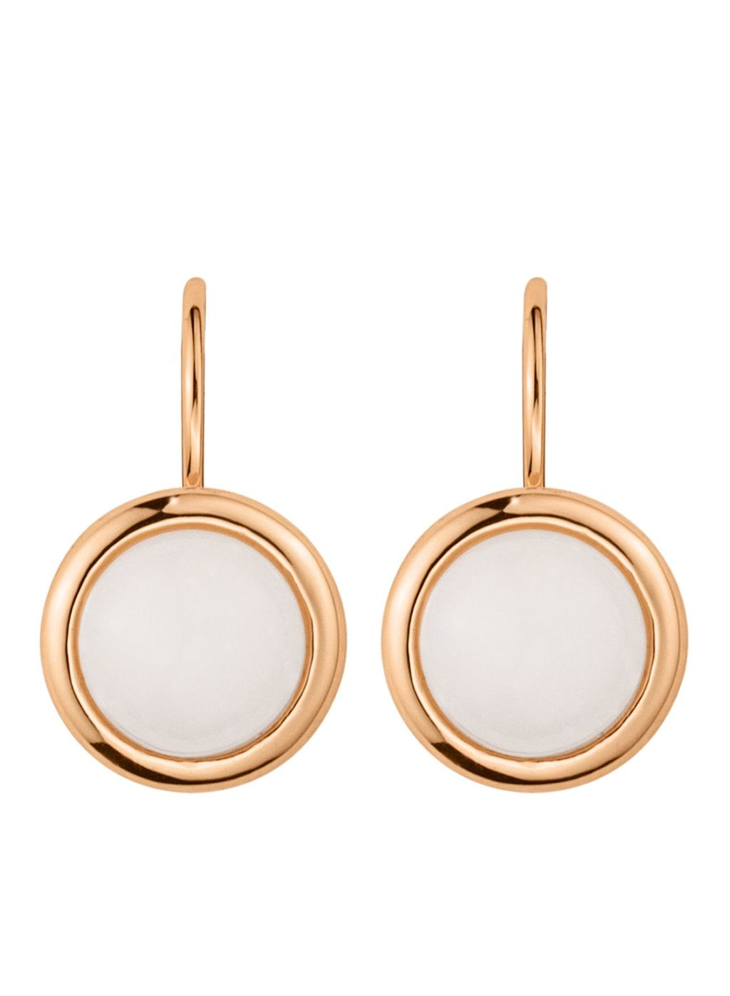 Poala Earpost, N/A - secondary colour: white; predominant colour: gold; occasions: evening, occasion; style: drop; length: short; size: small/fine; material: chain/metal; fastening: pierced; finish: metallic; season: s/s 2016; wardrobe: event