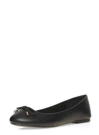 Womens Wide Fit Black 'willowy' Pumps Black - predominant colour: black; occasions: casual, creative work; material: faux leather; heel height: flat; toe: round toe; style: ballerinas / pumps; finish: plain; pattern: plain; season: s/s 2016; wardrobe: highlight