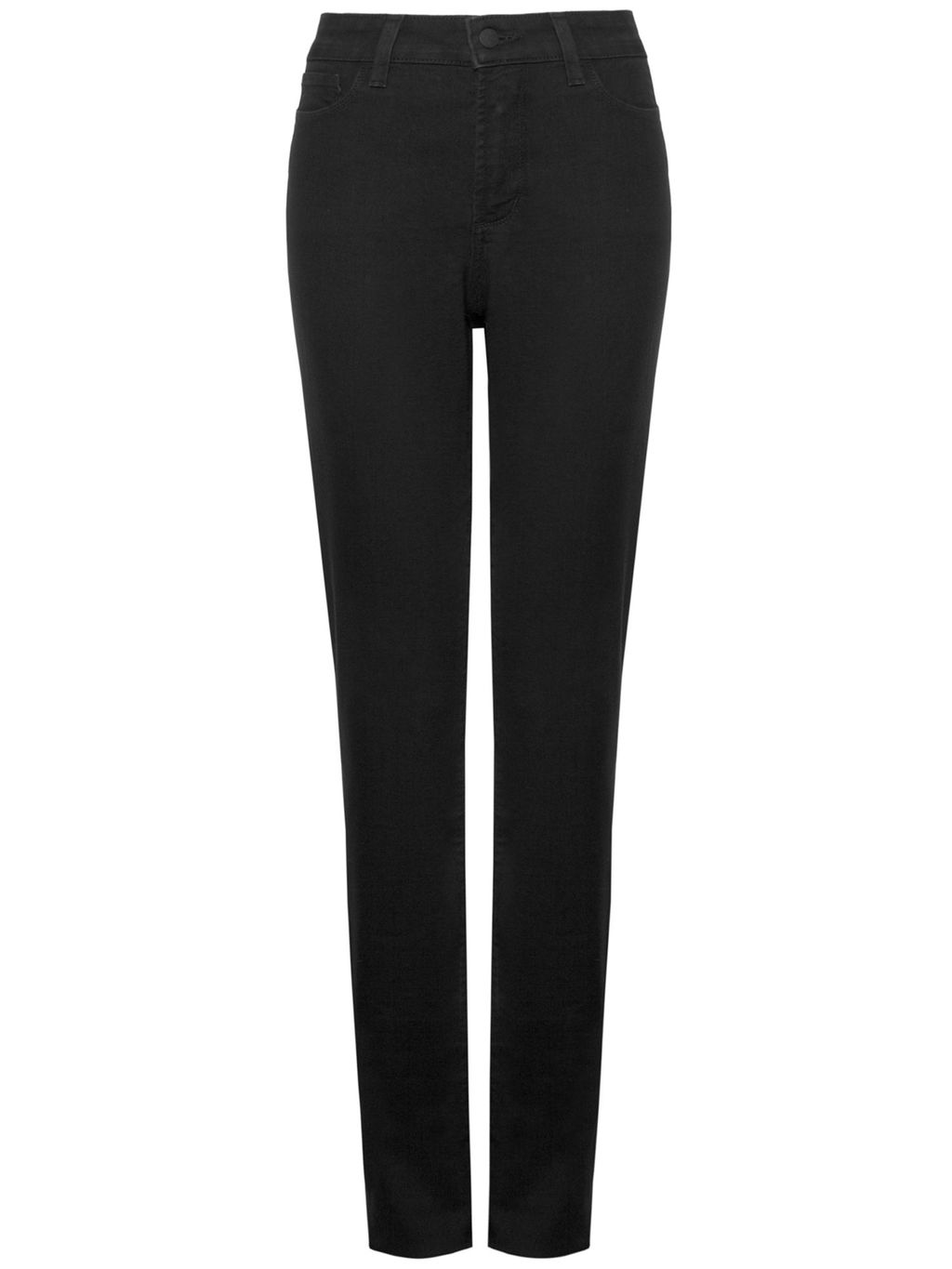 Samantha Slim, Black - length: standard; pattern: plain; waist: mid/regular rise; predominant colour: black; occasions: casual, creative work; fibres: cotton - stretch; fit: slim leg; pattern type: fabric; texture group: woven light midweight; style: standard; pattern size: standard (bottom); season: s/s 2016; wardrobe: basic