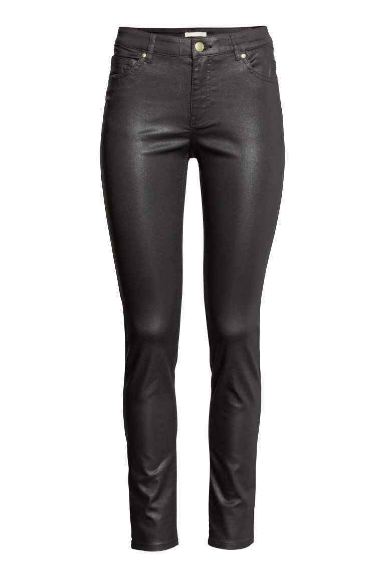 Superstretch Trousers - length: standard; pattern: plain; waist: high rise; predominant colour: black; occasions: casual, creative work; texture group: leather; fit: skinny/tight leg; pattern type: fabric; style: standard; fibres: pvc/polyurethene - 100%; season: s/s 2016; wardrobe: highlight