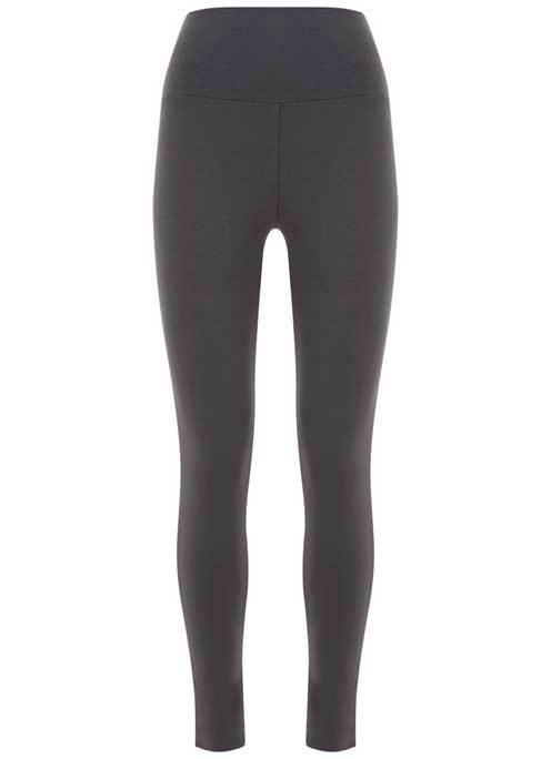 Smoke Legging - length: standard; pattern: plain; style: leggings; waist: mid/regular rise; predominant colour: charcoal; occasions: casual; fibres: cotton - stretch; texture group: jersey - clingy; fit: skinny/tight leg; pattern type: fabric; season: s/s 2016; wardrobe: basic