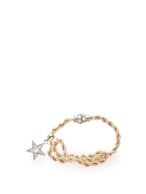 Ostuni Bracelet - predominant colour: stone; secondary colour: silver; occasions: casual, creative work; style: chain; size: standard; material: fabric/cotton; finish: plain; embellishment: beading; season: s/s 2016; wardrobe: highlight