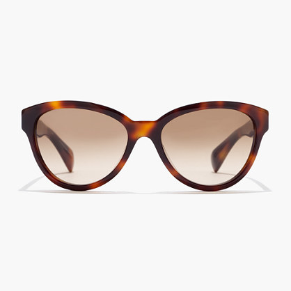 Ryan Sunglasses - predominant colour: chocolate brown; secondary colour: tan; occasions: casual, holiday; style: cateye; size: standard; material: plastic/rubber; pattern: tortoiseshell; finish: plain; season: s/s 2016; wardrobe: basic