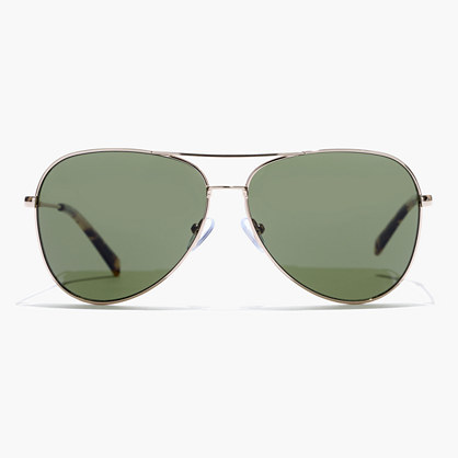 Jack Sunglasses - predominant colour: silver; occasions: casual, holiday; style: aviator; size: standard; material: chain/metal; pattern: plain; finish: metallic; season: s/s 2016; wardrobe: basic