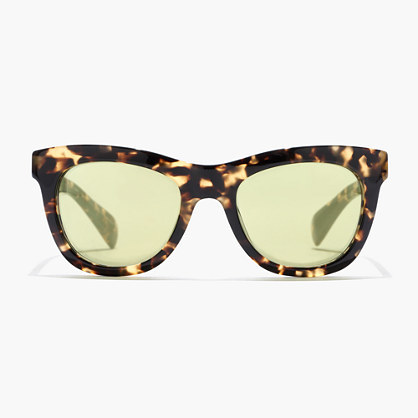 Betty Sunglasses - predominant colour: chocolate brown; secondary colour: camel; occasions: casual, holiday; style: cateye; size: standard; material: plastic/rubber; pattern: animal print; finish: plain; season: s/s 2016; wardrobe: highlight