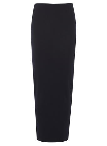 Womens **Tall Navy High Waisted Tube Skirt Blue - pattern: plain; length: ankle length; fit: tight; waist: high rise; predominant colour: navy; occasions: work; fibres: polyester/polyamide - stretch; style: tube; texture group: jersey - clingy; pattern type: fabric; season: s/s 2016