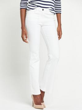 Petite High Rise 1932 Skinny Jeans - style: skinny leg; length: standard; pattern: plain; pocket detail: traditional 5 pocket; waist: mid/regular rise; predominant colour: white; occasions: casual; fibres: cotton - stretch; texture group: denim; pattern type: fabric; season: s/s 2016; trends: festival; wardrobe: highlight