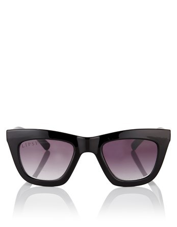 Fleur East Square Sunglasses - predominant colour: black; style: d frame; size: standard; material: plastic/rubber; pattern: plain; occasions: holiday; finish: plain; season: s/s 2016