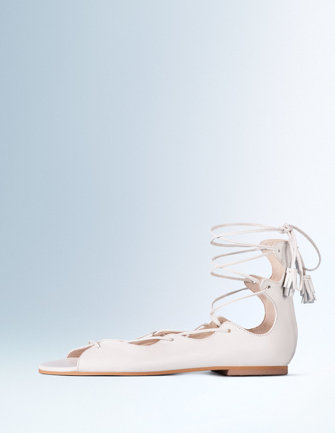 Freida Lace Up Sandal Ivory Women, Ivory - predominant colour: white; occasions: casual, holiday; material: leather; heel height: flat; ankle detail: ankle tie; heel: standard; toe: open toe/peeptoe; style: strappy; finish: plain; pattern: plain; season: s/s 2016; wardrobe: basic