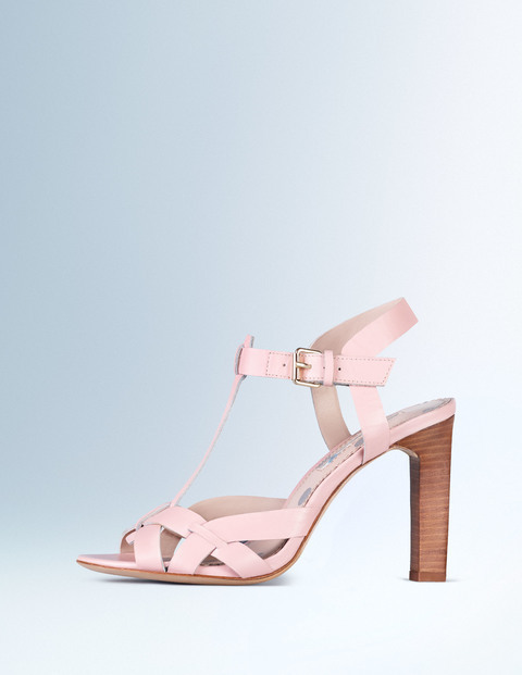 Tara Heel Old Pink Women, Old Pink - predominant colour: blush; occasions: evening; material: leather; heel height: high; ankle detail: ankle strap; heel: block; toe: open toe/peeptoe; style: strappy; finish: plain; pattern: plain; season: s/s 2016; wardrobe: event