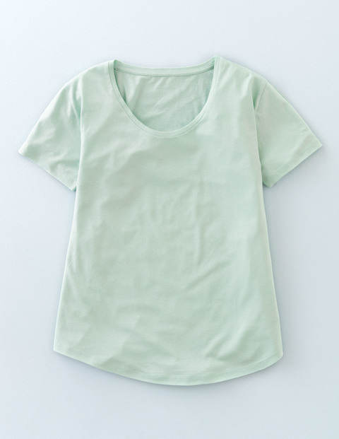 Supersoft Swing Tee Aqua Mint Women, Aqua Mint - neckline: round neck; pattern: plain; style: t-shirt; predominant colour: pistachio; occasions: casual; length: standard; fibres: cotton - mix; fit: body skimming; sleeve length: short sleeve; sleeve style: standard; pattern type: fabric; texture group: other - light to midweight; season: s/s 2016; wardrobe: highlight