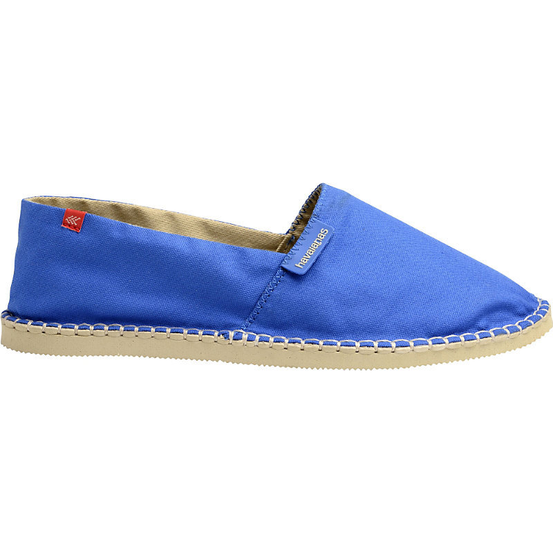 Origine Ii Canvas Espadrilles, Women's, Blue Star - predominant colour: diva blue; occasions: casual, holiday; material: fabric; heel height: flat; toe: round toe; finish: plain; pattern: plain; style: espadrilles; season: s/s 2016; wardrobe: highlight